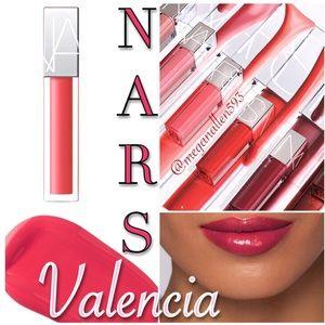 💋NARS Full Vinyl Lip Lacquer, Valencia